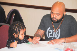 The Council's annual Pancake Breakfast encourages fatherhood engagement
