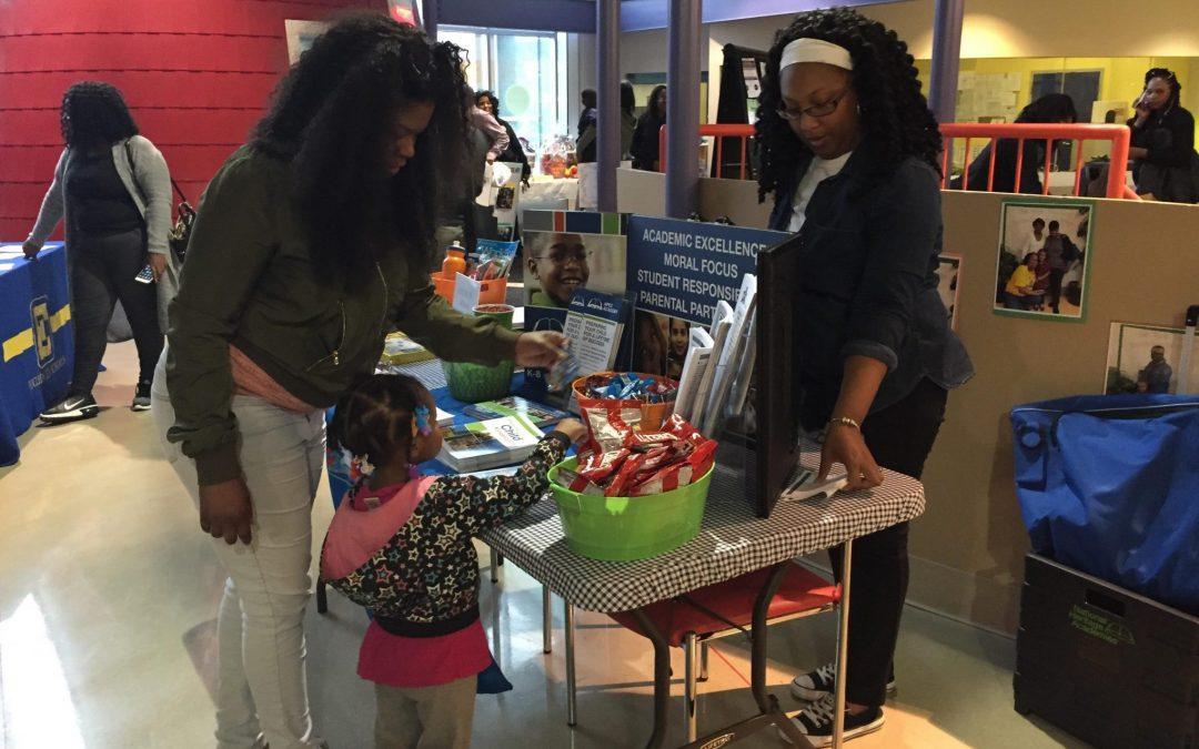 Kindergarten Round-Up Presents Parents with Options at George L. Forbes Early Learning Center