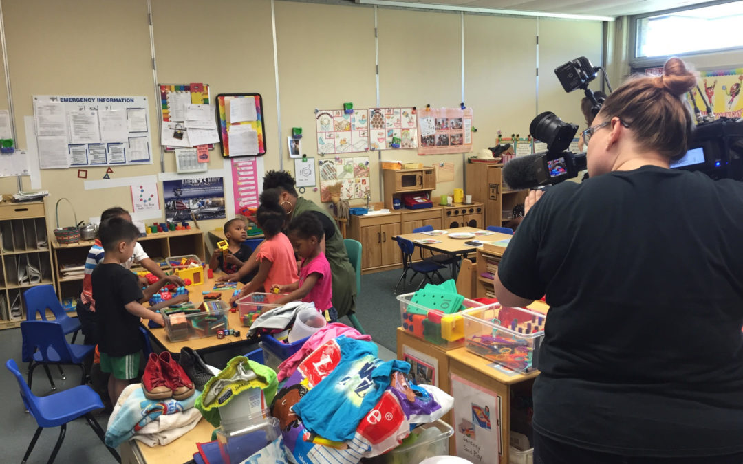 CEOGC's Head Start family, center featured on Cleveland's Channel 5 News