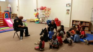 The Friendship through Reading program officially began this school year at the Villa Head Start center