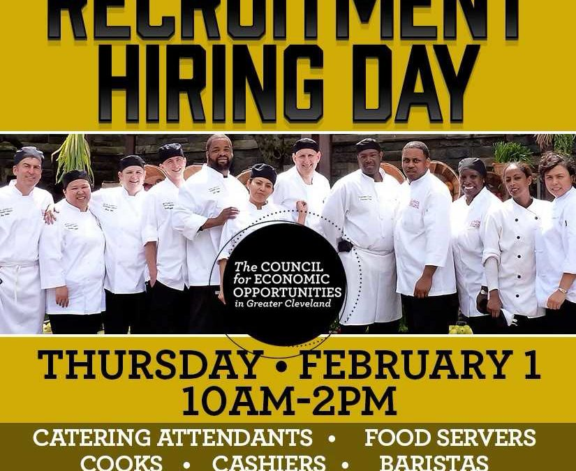 Bon Appetit Hiring Event: February 1 - The Council for Economic ...