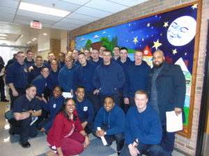 Cleveland Police cadets visited students, staff at William Patrick Day Head Start Center