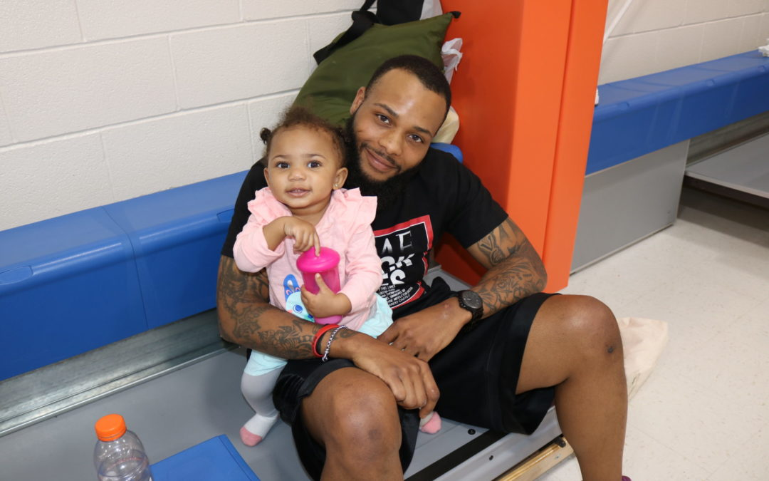 Local Fathers ball out for Hoop It Up event