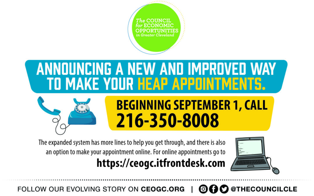 CEOGC's HEAP Office Implements New & Improved System