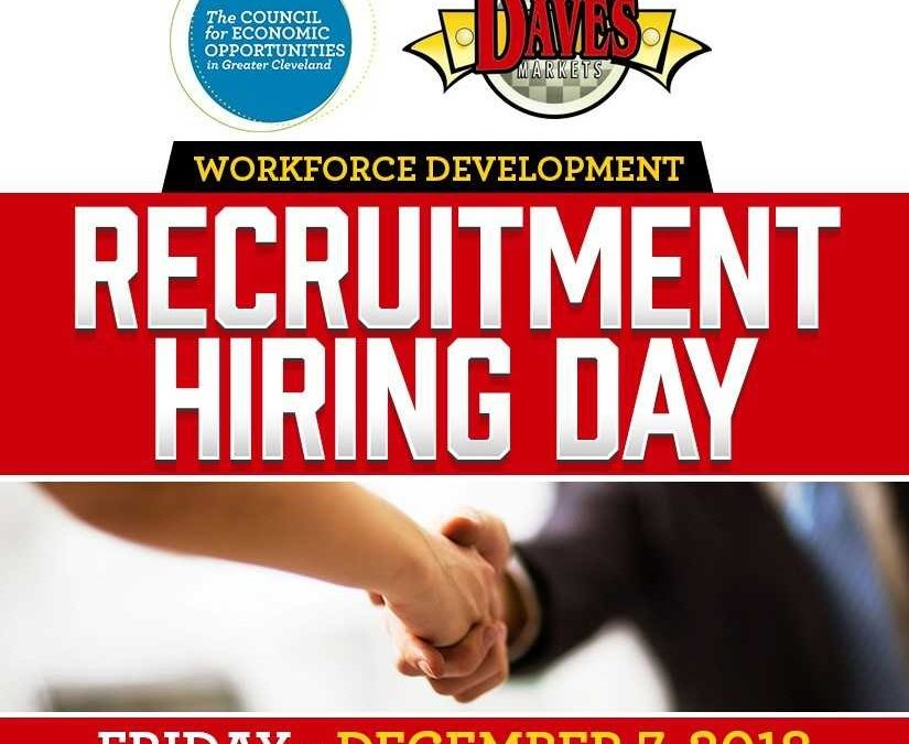 Recruitment Hiring Day Event