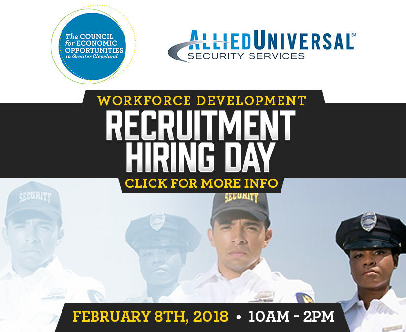 Allied Universal Partners with CEOGC for Recruitment Day