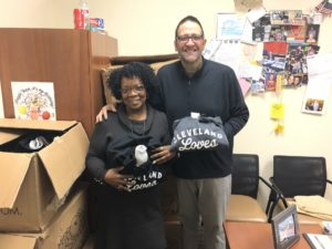 Pictured: Creola Rice, Manager of Workforce Development & Matt Anderson, Job Development Specialist